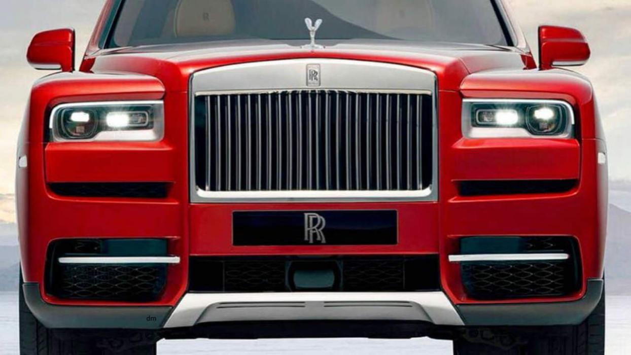 Rolls Royce Cullinan filtrado