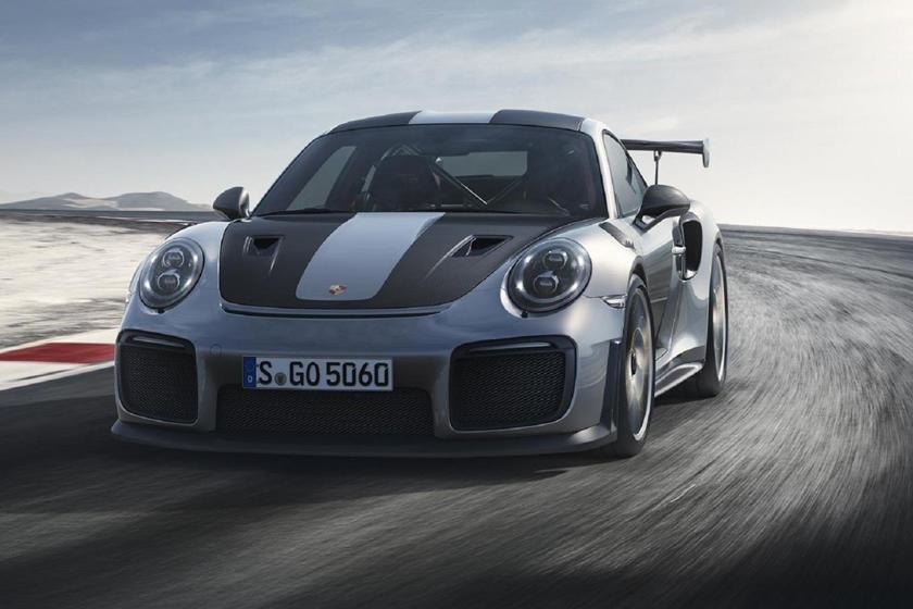 Coches que debutaron en Goodwood: Porsche GT2 RS