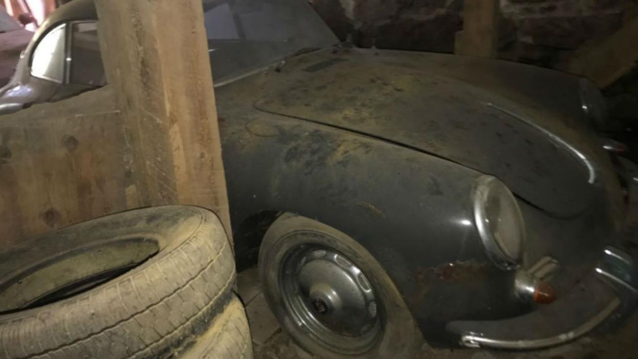Porsche 356B Super 90 Coupe 'barn-find'