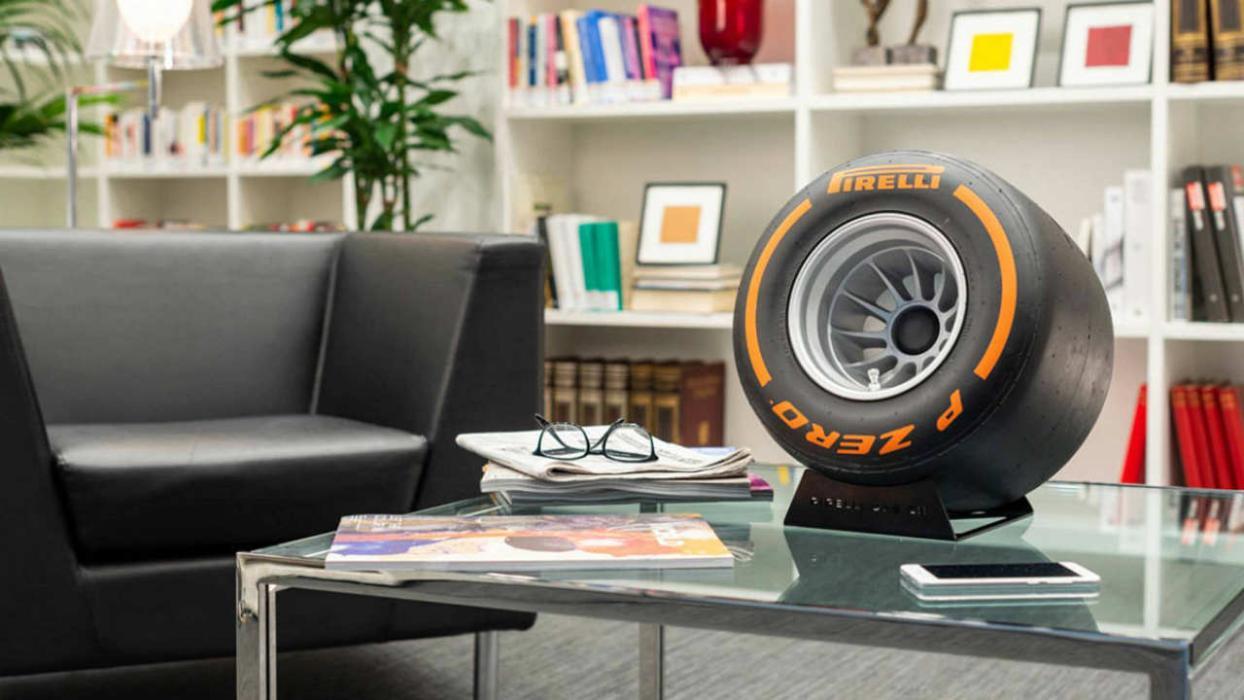 El altavoz Pirelli de la Fórmula 1