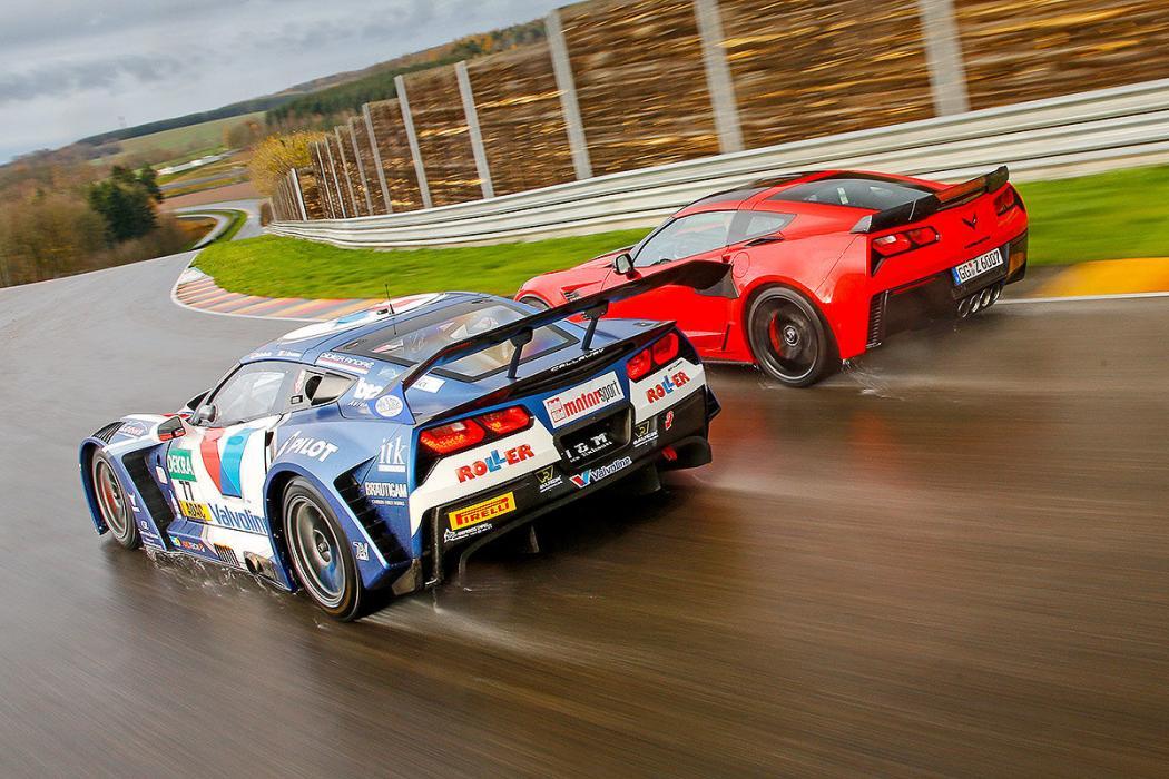 Chevrolet Corvette Z06 vs Corvette GT3-R
