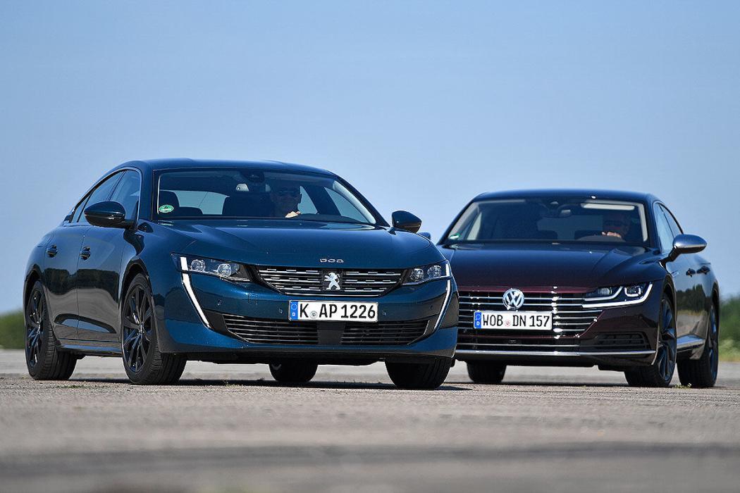 Peugeot 508 vs Volkswagen Arteon