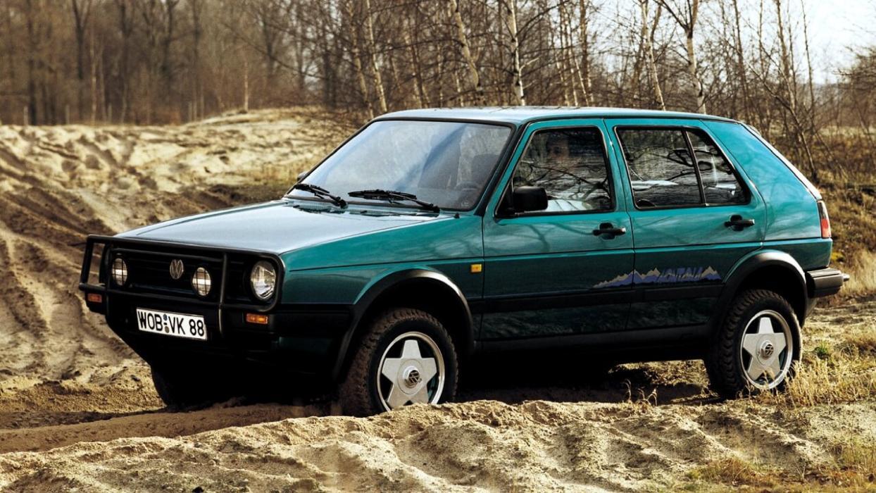 Volkswagen Golf Country mk2