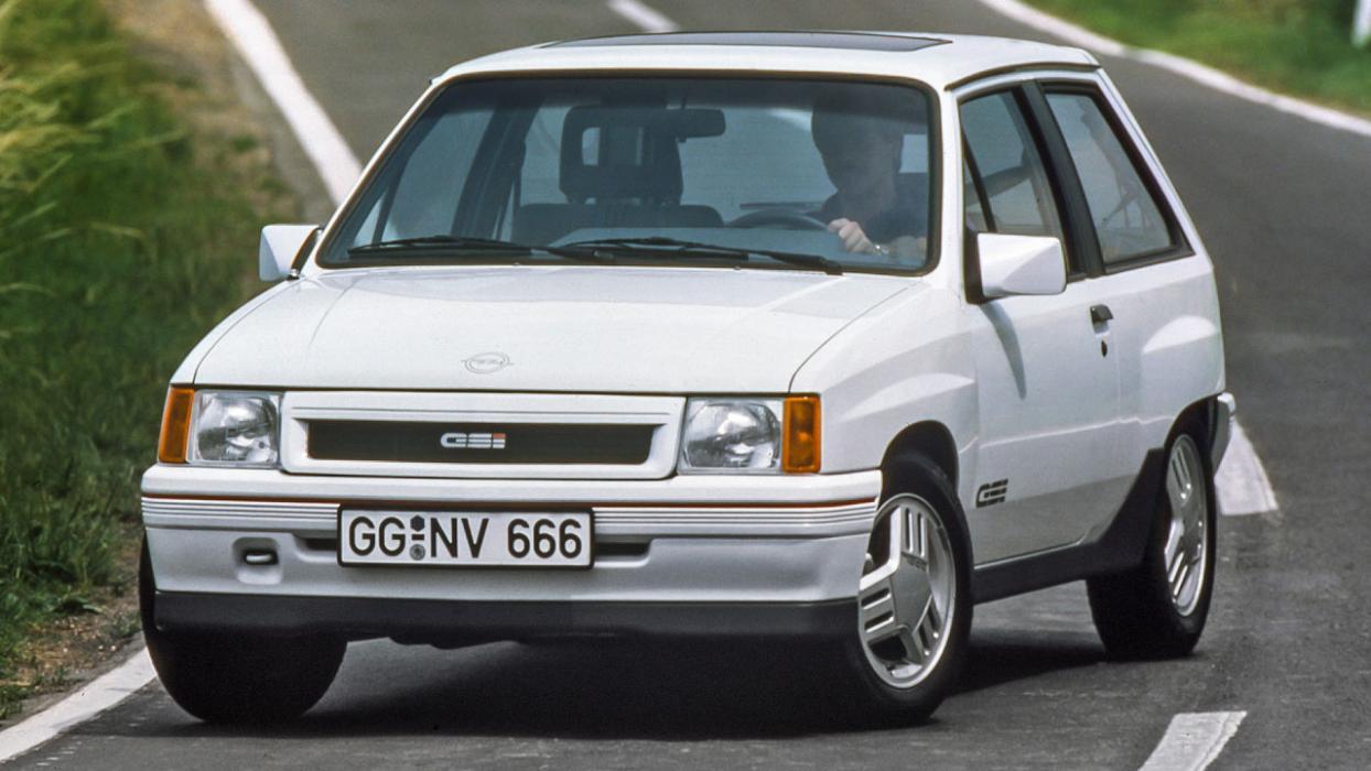 Historia Opel Corsa GSi