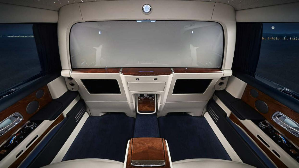 Rolls Royce Phantom Privacy Suite