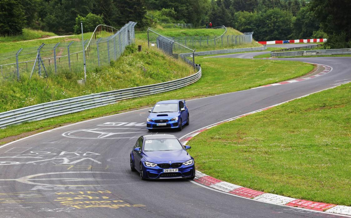 Viaje a Nürburgring con BMW y Subaru