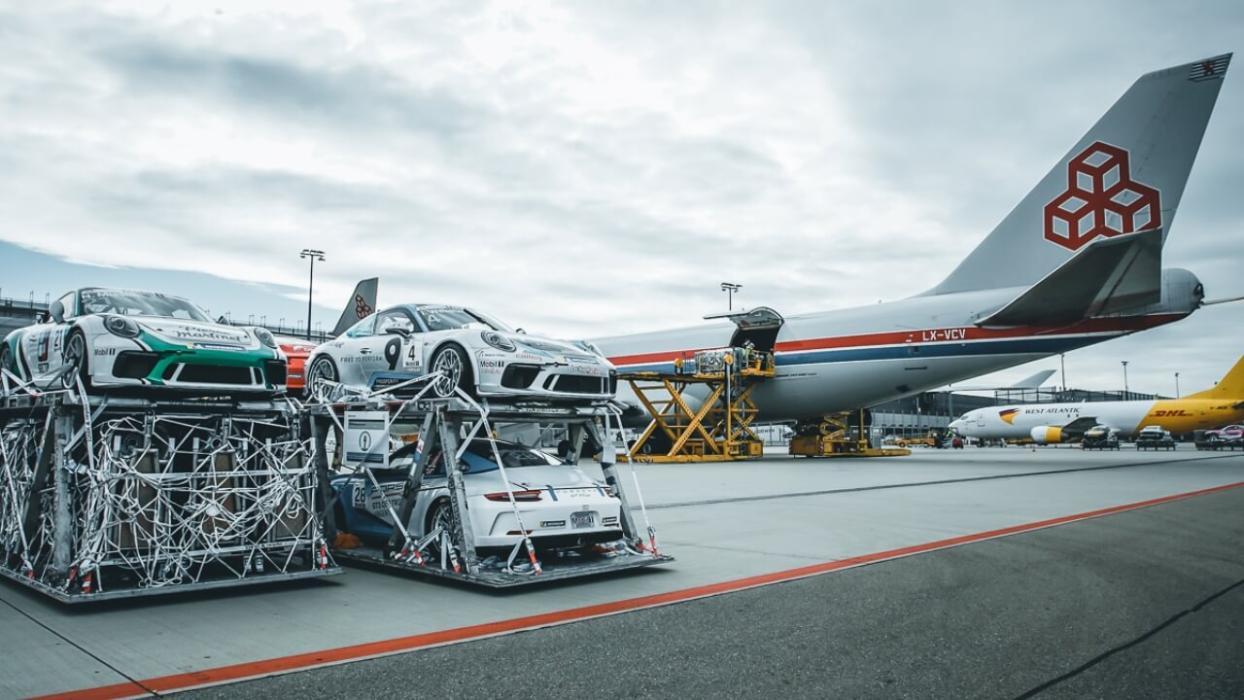 Transporte Porsche 911 GT3 Cup