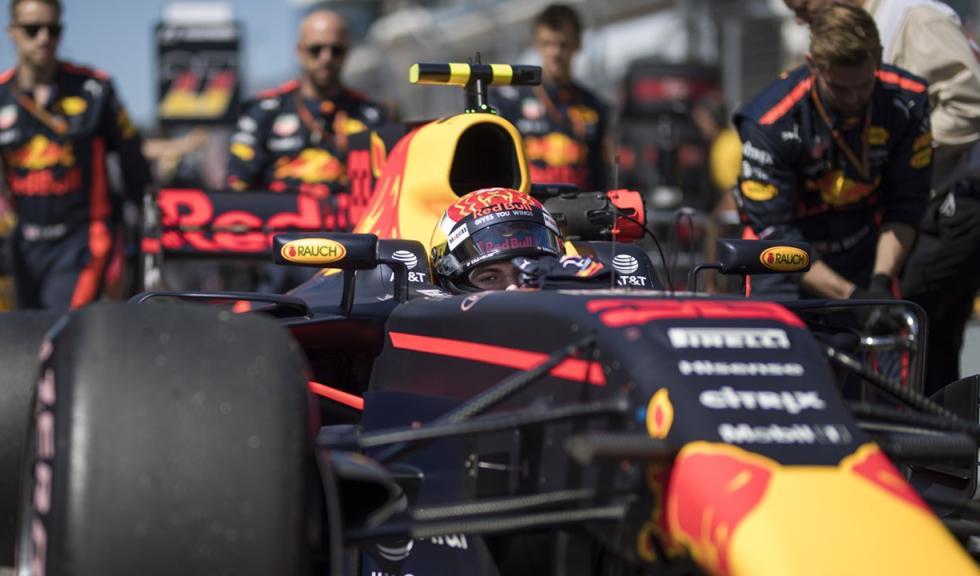 Max Verstappen, en el GP EEUU F1 2017