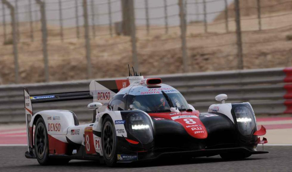 Alonso prueba el Toyota de Le Mans