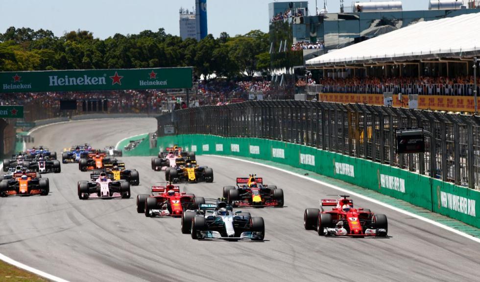 Salida GP Brasil 2017