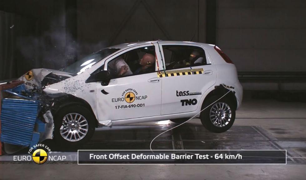 Fiat Punto Cero estrellas Euro NCAP