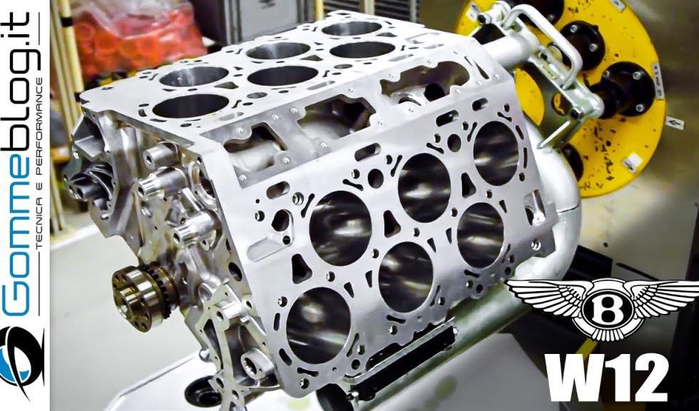 Vídeo: Así es el ensamblaje del motor Bentley W12 Motor-w12-bentley