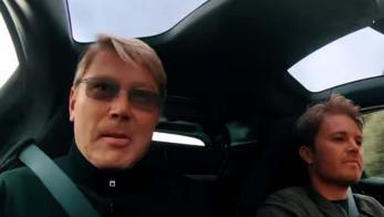 Mika Hakkinen y Nico Rosberg